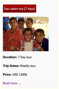 Iran salam tour premium